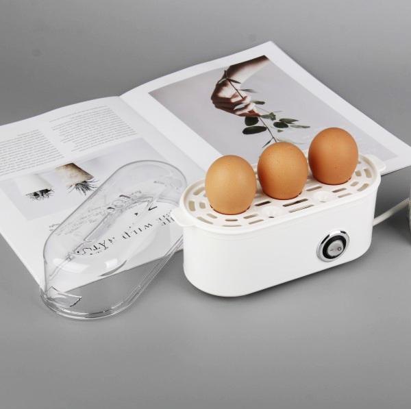 Fixed Competitive Price Egg Boiler Steamer - Smart Mini Electric Egg Boiler with portable egg tray – Tsida