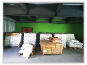 Incoming warehouse